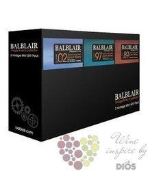 "Balblair "" 2002&1997&1989 "" mini bottles collection single malt Highland whisky3 x 0.05 l"
