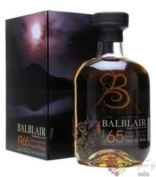 Balblair 1965 aged 40 years Single malt Highland Scotch whisky 52.3% vol.   0.70 l