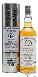 """Glenlivet 2007 """" Signatory UnChillfiltered """" Speyside whisky 46% vol.  0.70 l"""