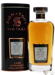 """Glenlivet 2006 """" Signatory Cask Strength """" Speyside whisky 62.9% vol.  0.70 l"""