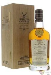 """Glenlivet 1987 """" Gordon & MacPhail Connoisseurs Choice """" Speyside whisky 49.2% vol.  0.70 l"""
