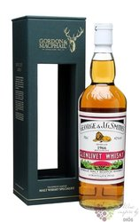 "Glenlivet 1966 "" Rare vintage of Gordon & MacPhail "" Speyside single malt whisky 43% vol.   0.70"
