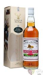 Glenlivet 1974 bott.2008 Speyside whisky Gordon & MacPhail 43% vol.  0.70 l