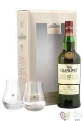 Glenlivet 12 years old 2glass pack Speyside single malt whisky 40% vol.    0.70l