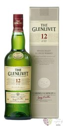 Glenlivet 12 years old Speyside single malt whisky 40% vol.    0.35 l