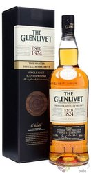 "Glenlivet Master distiller´s reserve "" Blend "" single malt Speyside whisky 40% vol.  1.00 l"