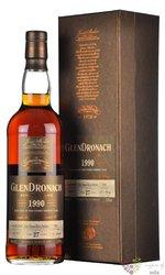 "GlenDronach 1990 "" Single cask "" aged 27 years Highland single malt whisky 50.9% vol.  0.70 l"