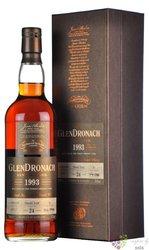 "GlenDronach 1993 "" Single cask "" aged 24 years Highland single malt whisky 52.4% vol.  0.70 l"