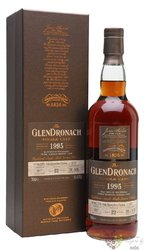 "GlenDronach 1995 "" Single cask "" aged 22 years Highland whisky 55.1% vol.  0.70 l"