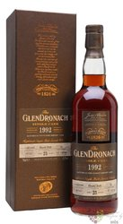 "GlenDronach 1992 "" Single cask "" aged 25 years Highland single malt whisky 58.5% vol.  0.70 l"