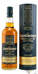 "GlenDronach Cask strength "" Batch 4 "" single malt Speyside whisky 54.7% vol.   0.70 l"