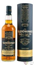 """GlenDronach """" Cask strength batch 4 """" single malt Speyside whisky 54.7% vol.   0.70 l"""
