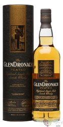 "GlenDronach "" Peated "" single malt Speyside whisky 46%vol.  0.70 l"