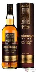 "GlenDronach "" Peated Port wood "" single malt Speyside whisky 46%vol.  0.70 l"