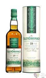 "GlenDronach "" Madeira cask "" aged 19 years single malt Speyside whisky 46%vol.0.70 l"