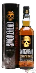 """Smokehead """" Extra Rare """" single malt Islay whisky by Ian MacLeod 40% vol.   0.70 l"""