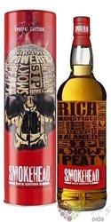 "Smokehead "" Rock ed. II "" single malt Islay whisky by Ian MacLeod 46.6% vol.  1.00 l"