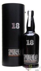 """Smokehead """" Extra Black """" aged 18 years single malt Islay whisky by Ian MacLeod46% vol.   0.70 l"""