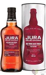 "Jura cask edition "" Red wine "" single malt Jura whisky 40% vol.  0.70 l"