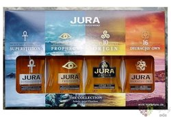 "Jura "" Collection "" single malt Island Jura whisky 4 x 0.05 l"