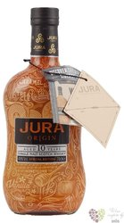 "Jura Tattoo "" Origin "" aged 10 years single malt Jura whisky 40% vol.  0.70 l"