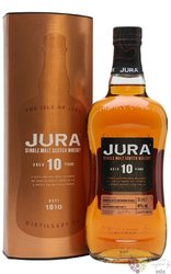 Jura aged 10 years single malt Jura island whisky 40% vol.  0.70 l