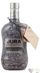 "Jura Tattoo "" Superstition Lightly peated "" single malt Islands whisky 43% vol.0.70 l"