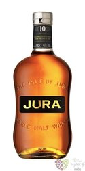 Isle of Jura aged 10 years single malt Jura island whisky  40% vol.    0.20 l