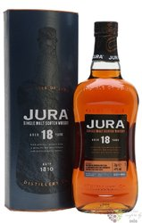 Jura aged 18 years single malt Jura island whisky 40% vol.  0.70 l