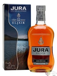 "Isle of Jura "" Elixir "" aged 12 years single malt Jura whisky 40% vol.   0.70 l"