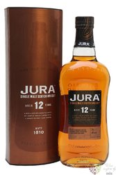 Isle of Jura aged 12 years single malt Jura Island whisky 40% vol.  0.70 l