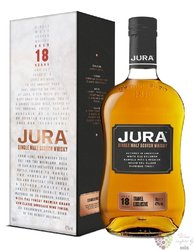 Jura aged 18 years single malt Jura island whisky 42% vol.  0.70 l