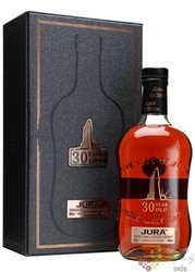 "Isle of Jura "" Limited Edition "" aged 30 years single malt Islands whisky 44% vol.  0.70 l"