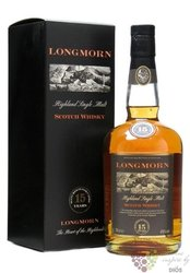 Longmorn 15 years old Speyside single malt whisky 45% vol.  0.70 l