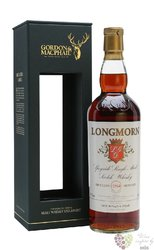 "Longmorn 1964 "" Gordon & MacPhail Rare vintage "" Speyside whisky 43% vol.   0.70 l"