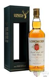 "Longmorn 1983 "" Gordon & MacPhail Rare vintage "" Speyside whisky 43% vol.   0.70 l"