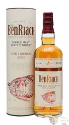 "BenRiach "" Cask stregth batch.1 "" single malt Speyside whisky 57.2% vol.  0.70 l"