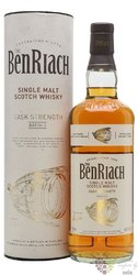 "BenRiach "" Cask stregth batch.2 "" single malt Speyside whisky 60.6% vol.  0.70 l"