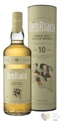 "Benriach "" Triple distilled "" aged 10 years Speyside single malt whisky 43% vol.  0.70 l"