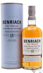 "BenRiach "" Heart of Speyside "" aged 12 years Speyside Single malt whisky 43% vol.    0.70 l"