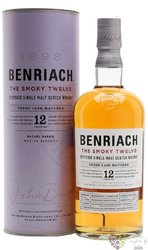 "BenRiach "" the Smoky Twelve "" aged 12 years Speyside whisky 46% vol.  0.70 l"