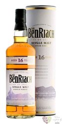"BenRiach "" Heart of Speyside "" aged 16 years Speyside Single malt whisky 43% vol.    0.70 l"
