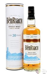 "BenRiach "" Heart of Speyside "" aged 20 years Speyside Single malt whisky 43% vol.    0.70 l"