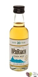 "BenRiach "" Heart of Speyside "" aged 20 years Speyside Single malt whisky 43% vol.    0.05 l"