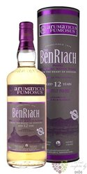 "BenRiach "" Arumaticus Fumosus "" aged 12 years Speyside single malt whisky 46% vol.  0.70 l"
