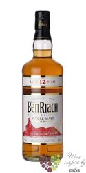 "BenRiach "" Heart of Speyside "" aged 12 years Speyside Single malt whisky 43% vol.    0.05 l"