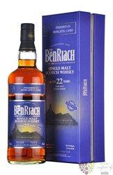 "BenRiach "" Moscatel "" aged 22 years Speyside single malt whisky 46% vol.  0.70 l"