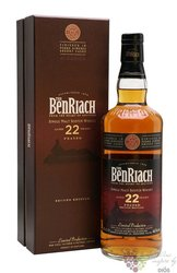 "BenRiach "" Albariza "" aged 22 years Speyside single malt whisky 46% vol.  0.70 l"