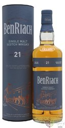 "BenRiach "" Classic "" aged 21 years Speyside single malt whisky 46% vol.  0.70 l"