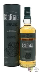 "BenRiach "" Quarter cask Peated "" single malt Speyside whisky 46% vol.  0.70 l"